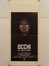 OCCHI DI LAURA MARS thriller regia Irvin Kershner locandina orig. 1978