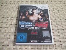 Smackdown vs raw 2010 pour nintendo wii et wii u * OVP *