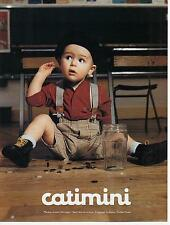 ▬► PUBLICITE ADVERTISING AD vêtements enfants CATIMINI 5 pages