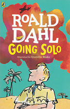 Roald Dahl Going Solo Quentin Blake 2016 1st PB Childs Puffin Classic