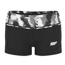 MyProtein Athletic Frauen Shorts S black stroke Fitness Hose tights Leggings MP
