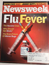 Newsweek Magazine The Vaccine Crisis November 1, 2004 050317nonr