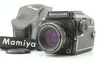 [Near Mint++ in Case] MAMIYA M645 1000S 80mm F/2.8 Lens Waist Level Finder Japan