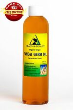 WHEAT GERM OIL UNREFINED ORGANIC CARRIER COLD PRESSED VIRGIN RAW PURE 8 OZ