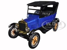 1925 FORD MODEL T TOURING BLUE 1/24 DIECAST MODEL CAR BY MOTORMAX 79319