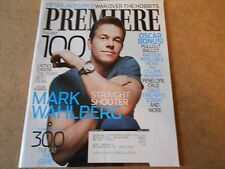 MARK WAHLBERG PETER JACKSON ACADEMY AWARDS PREMIERE MAGAZINE MARCH 2007