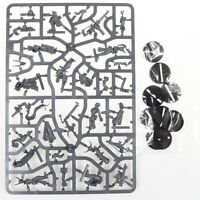 Blackstone Fortress Escalation Cultists set of 7 plastic miniatures on sprue