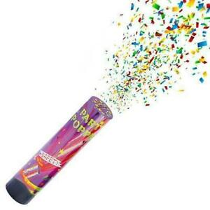 Party Confetti Cannons Wedding Birthday Baby Shower New Years Hen Party Poppers