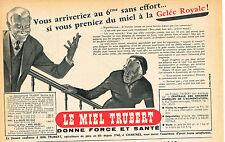 PUBLICITE ADVERTISING 114  1954  TRUBBERT    miel gelée royale   à CHARTRES