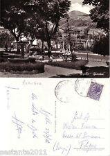 U60, Cartolina D´EPOCA -SIGILLO - PERUGIA - GIARDINI, ANIMATA