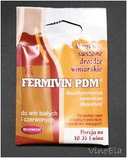 3x FERMIVIN / PDM Trockenhefe Weinhefe Reinzuchthefe 7g
