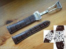ORIS Rectangular Complication leather band bracelet strap buckle clasp 0752370FC