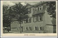 Weimar Thüringen Postkarte ~1920/30 Partie am Schiller Haus ungelaufen