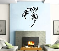 Wall Sticker Vinyl Decal Parrot  Bird  Funny Pull Mural Urban Art z374