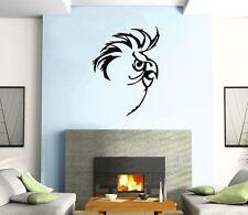 Wall Sticker Vinyl Decal Parrot  Bird  Funny Pull Mural Urban Art z374