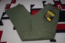 Iron Heart IH-706 12oz Swedish Serge Olive Green Cargo Pants 31