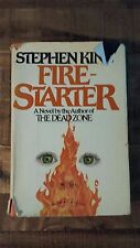 FIRESTARTER - A Novel by Stephen King, Hardback, 4th Printing, 1980