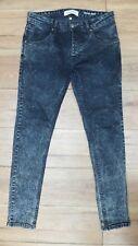 "River Island ácido lavado Stretch Skinny Jeans == W32"" X L32"" =="