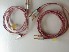 Western Electric Speaker Cable We16Ga Vw-1 6.2 feet Banana Bfa Tube Amplifier