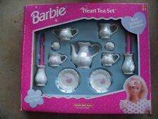 Vintage Barbie 1998 Heart Tea Set