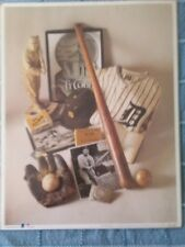 TY COBB FIRST EDITION PRINT
