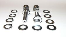 Kawasaki H1 / H2 / KH500 / 750 / Triples Top and Bottom Shocks Bolts Set CHROME