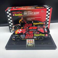 DALE JARRETT DIECAST BANK Texaco Havoline nib box racing champions 1/24 nascar