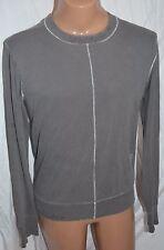 J LINDEBERG gray long sleeve t shirt top size XL CREW NECK COTTON SWEAT SHIRT