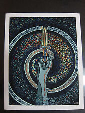 Justice 2013 James Eads Limited Edition Giclee Art Print Signed Tarot