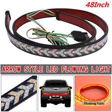 "48"" 2Colors LED Car Truck Tailgate Light Bar Flowing Turn Signal Brake/DRL Light"