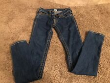 True Religion Women's Stella Big T Denim Jeans Size 26