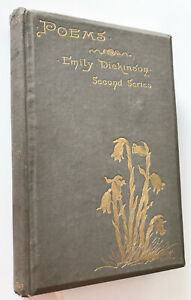 Poems by Emily Dickinson; 1892 First Edition; Second Series