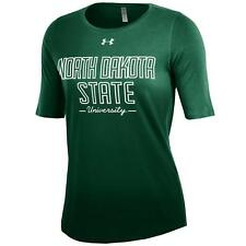 Under Armour Women's Short Sleeve Dip Dye Tee North Dakota State NDSU Medium M