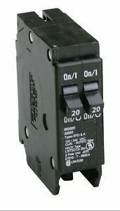Eaton Cutler-Hammer BR 20/20 amps Tandem 2-Pole Circuit Breaker -Qty of 1
