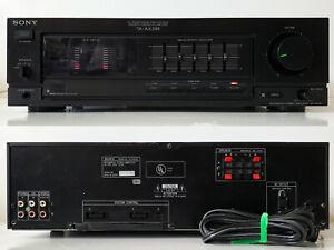Nice Vintage 105W/Ch Integrated Amplifier w/Phono Input Sony TA-AX295