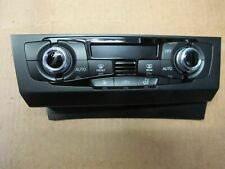 Audi A4 Audi A5 + Q5 - A/C Display & Control Panel 8K2 820 043S 8K2820043S