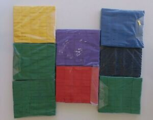 Bulk Buy 8 x 1kg Paper Confetti Flameproof Color Rectangle Slow fall Pro Use