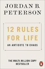 NEW 12 Rules for Life by Jordan B. Peterson Paperback (Free Shipping)