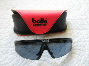 Bolle Vintage Microedge Cycling Sunglasses with 3 Lenses & Extra Ear Loops