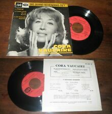CORA VAUCAIRE - Dis Quand Reviendras Tu ? French EP Sixties Pop 65'