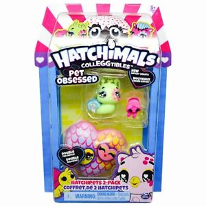 Snailtail & Sloth Green Hatchimals Colleggtibles Pet Obsessed Hatch Hearts