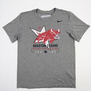 Houston Texans Nike Dri-Fit Short Sleeve Shirt Men's Gray Used