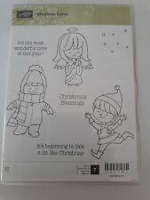 Stampin up ✿ Stempelset Christmas Cuties ✿ 7 Stempel NEU Schutzengel selten Elfe