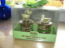 Baby Essentials My First Tooth & Curl Keepsake Set Camouflage Deer Duck