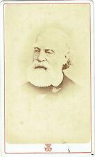 Photo cdv : Bacard Fils , Portrait de Brassail ?? Commune de Paris , Vers 1871