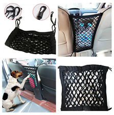 2-Layers Durable Car Seat Storage Mesh Cargo Net  Organizer Hook Pouch Holder