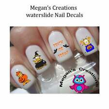 HALLOWEEN Garfield Trick or Treat Nail Art Decals