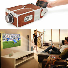 Smartphone Projector DIY Phone Portable Home Cinema TV Screen for iPhone Samsung