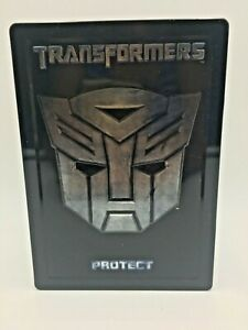 TRANSFORMERS Movie DVD Steel Book HASBRO LIMITED EDITION VGC