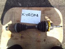 2008 SSANGYONG KYRON 2.0 DIESEL FRONT LEFT DRIVESHAFT